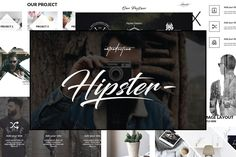 Hipster v.2 Keynote Template by onestudio on @creativemarket