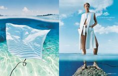 Hermes: Scarf / Ready-To-Wear Woman, Publicis Etnous, Hermes, Print, Outdoor, Ads