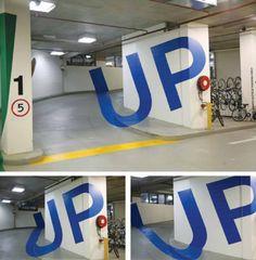 Genius Carpark Graphics by Axel Peemoeller