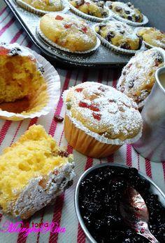 La Torta Margherita: American muffin di farro bio