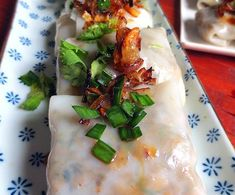 Vietnamesische Ravioli (Banh Cuôn) – My WordPress Website Salty Foods, Asian Recipes, Ethnic Recipes, Fresh Rolls, Brunch, Veggies, Cooking Recipes, Dishes, Healthy