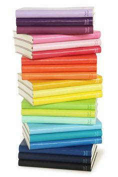 #houseofcolor | Paperthinks Recycled Leather Notebooks. $17.95 from Kate's Paperie.