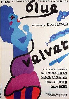 blue velvet • dir. david lynch • 1986 • polish poster