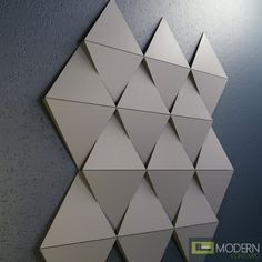 Texturedsurface Gypsum Composite wall panel gives an excellent opportunity to create a seamless unique Interior and Exterior walls or Ceiling. Ceiling Design, Wall Design, Origami Wall Art, Church Stage Design, 3d Wall Panels, Wall Molding, Origami Design, Wall Cladding, Wall Patterns