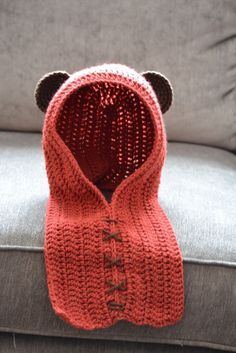 EWOK hat free pattern link. For my little Ewok ༺✿ƬⱤღ https://www.pinterest.com/teretegui/✿༻