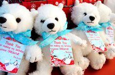 Winter ONEderland Wonderland Favor Thank You by GwynnWassonDesigns, $6.50