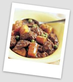INGREDIENTS   • 1 lb beef chuck or other stewing cut, cut   into 1-inch cubes;  • 3 cups sweet potatoes, peeled and cut   into 1-...
