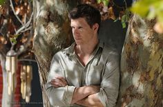 Actor Eric Mabius became familiar to American audiences from his TV performances on Ugly Betty and in the movies Resident Evil . He returns to his sci fi genre with is new TV series Outcasts. Eric Mabius, Sci Fi Genre, Ugly Betty, New Tv Series, Film Review, Resident Evil, Appreciation, Hollywood, Movies