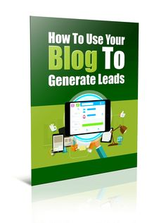 How To Use Your Blog To Generate Leads PLR Report Resell PLR - http://www.buyqualityplr.com/plr-store/use-blog-generate-leads-plr-report-resell-plr/.  #LeadGeneration #IncreaseTraffic #Blogging BlogTraffic #PLRreport #ResellPLR How To Use Your Blog To Generate Leads PLR Report Resell PLR Discover The Basics Of How To Increase Traffic To Your Blog And Generate More Leads A blog is a fantastic tool. Think of it as a tool, a tool you can use to....