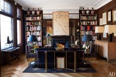 Inspiring Living Rooms of Architects and Designers : Architectural Digest