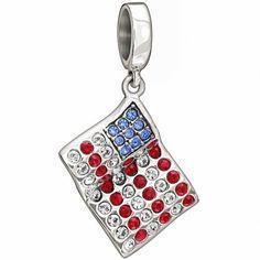 "Authentic Chamilia Sterling Silver Charm ""American Flag"" With Swarovski Chamilia http://www.amazon.com/dp/B00K0SYX0K/ref=cm_sw_r_pi_dp_noCfvb06PWT6Y"
