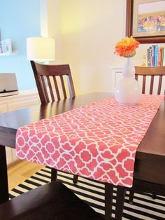 Easy Sewing Projects to Sell - How to Make Reversible Table Runner - DIY Sewing Ideas for Your Craft Business. Make Money with these Simple Gift Ideas, Free Patterns, Products from Fabric Scraps, Cute Kids Tutorials http://diyjoy.com/sewing-crafts-to-make-and-sell