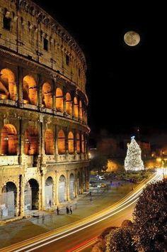 coliseo romano - navidad