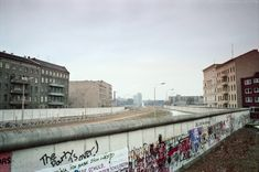 """""""The Party is over!"""", Berliner Mauer, 1985 #659 chrisjohndewitt: """"Berlin 1985: 'The party is over' someone painted on the wall. """""""