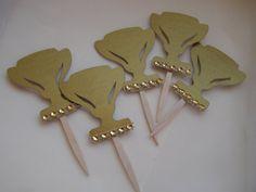 Food Picks Snacks Cupcake Toppers 15 Kentucky by MesBellesSoeurs