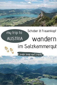 Tourenbeschreibung zu meiner Wanderung im Salzkammergut in Österreich. Die Wanderung ist nicht lang, dafür geht es aber steil den Berg hinauf und oben gibts einen tollen Ausblick in die Alpen. #wanderlust #wanderzeit #outdoorsport #erkundedeineheimat #fuschlsee #attersee #traunsee #irrsee #schafberg Salzburg, Austria, Travel Inspiration, The Good Place, Berg, Camping, Mountains, Country, City