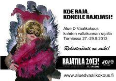 Registration is open!  JCI Rajatila Regional Conference is held 27.-29.9.2013 in Tornio.