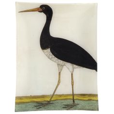 sigh.  i'm going to have to start painting birds myself so i can decorate my home with them.  John Derian Company Inc — #7 - Black Stork