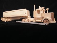 With one trailer, it can have up to three! Wood Workshop, Traditional Toys, Local Parks, Toy 2, Woodworking Toys, Wood Toys, Kids Playing, Kids Toys, Romper