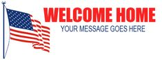 Welcome Home Banner Red Carpet Backdrop, Welcome Home Banners, Event Banner, Your Message, Backdrops, How To Memorize Things, Messages, Prints, Red Carpet Background