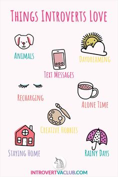 There's nothing better than a rainy day, with furbaby cuddles and a good book! This introvert meme shows ALL of my favorite things I like to do to recharge after work. Introvert Vs Extrovert, Introvert Personality, Introvert Quotes, Introvert Problems, Intp, Ambivert, Frases Humor, Inspirational Quotes, Personal Trainer