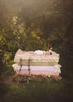 My whimsical fairytale shoot with Danielle Paynter. We tranformed our Isla Bleu into the Princess and the Pea. <3 (Creating the bed was so fun!)