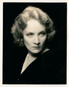 Germany. Marlene Dietrich, 1930s //  by Eugene Robert Richee