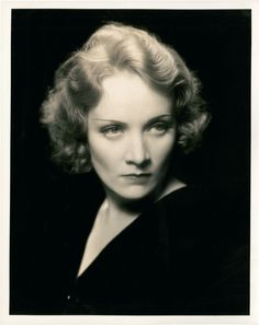 Germany. Marlene Dietrich, 1930s //  by Eugene Robert Richee
