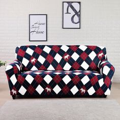 UNIVERSAL SOFA COVER ELASTIC COVER – KawayMigi Couch And Loveseat, Sofa Bed, Living Room Sofa Design, Living Room Designs, Teal Painted Furniture, Cheap Couch, Couch Covers, En Stock, Furniture Makeover