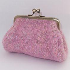 Woven Pink Clutch Purse £20.00