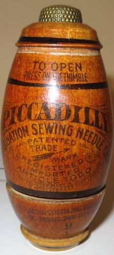 Piccadilly needle case, how cool is this...
