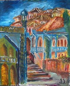 oil paintings on canvas 50X60