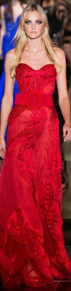 Atelier Versace Spring 2015 Couture | The House of Beccaria~