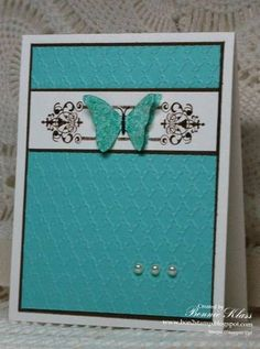 Pooled Suede by bon2stamp - Cards and Paper Crafts at Splitcoaststampers