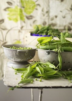 "jada111: "" Fresh picked peas 