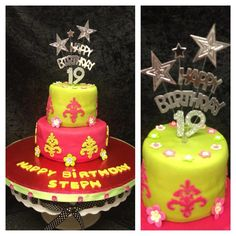 My daughter 19th cake