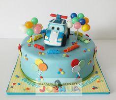 Joshua's Poli Robocar Cake for his 3rd birthday!