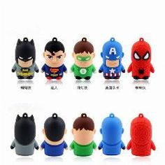 [ $39 OFF ] Usb Flash Drive Super Hero Pen Drive Cartoon  Usb Stick Cute Mini Pendrive 2G 4G 8G 16G U Disk Flash Card Freeshiping