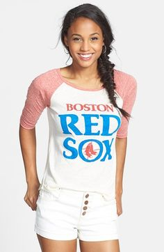 Wright & Ditson 'Boston Red Sox' Baseball Tee (Juniors) | Nordstrom