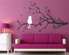 This would be cute for a little girls room but with maybe a bed or desk in front of the painting!