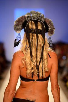 Long Blonde Curls @Tresemme @Lisa Blue #MBFWSwim 2013