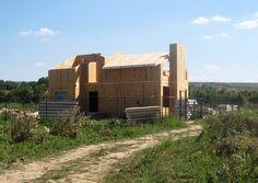 Процесс строительства дома из СИП-панелей