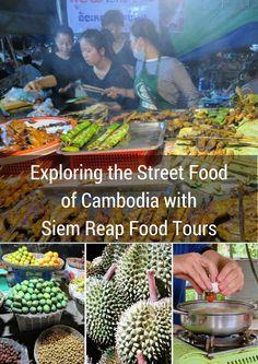 Exploring the Street Food of Cambodia with Siem Reap Food Tours | Sidewalk Safari