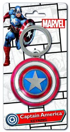 The Avengers Captain America Shield Key Ring Monogram International Inc. http://www.amazon.co.uk/dp/B0050B4032/ref=cm_sw_r_pi_dp_Z2Nfvb0Y0M950