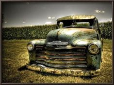 Chevy Truck Photographic Print by Stephen Arens .I am not much into prints of old cars/trucks, but I like this. Rat Rod Trucks, Gmc Trucks, Cool Trucks, Rat Rods, Pickup Trucks, Truck Drivers, Diesel Trucks, Lifted Trucks, Farm Trucks