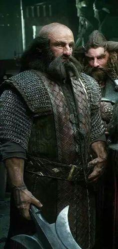 Dwalin and Nori in Erebor armor