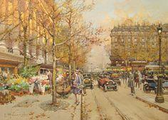 paris bastille art market