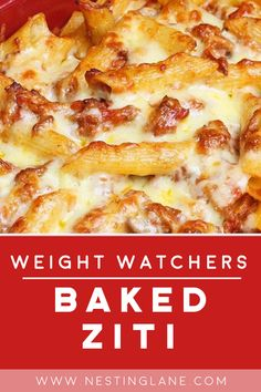 Weight Watchers Pasta, Weight Watchers Snacks, Weight Watchers Casserole, Weight Watchers Meal Plans, Weight Watcher Dinners, Weight Watchers Smart Points, Ww Recipes, Low Calorie Recipes, Cooking Recipes
