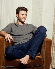Tomas Maier Crew Neck Cashmere Sweater, $660,  mrporter.com  Frame Denim L'Homme Cotswolds Slim-Fit Jeans, $220,  mrporter.com