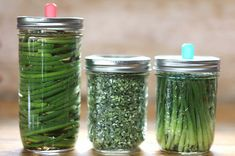 Garlic Scape Recipes: How To Harvest & Preserve Garlic Scapes. Preserving Garlic, Harvesting Garlic, Preserving Food, Freezing Garlic, Scape Recipe, Garlic Scape Pesto, Conservation, Home Canning Recipes, Pickled Garlic